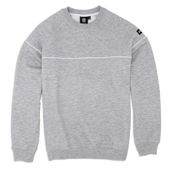 Sweatshirt 'Line' grey