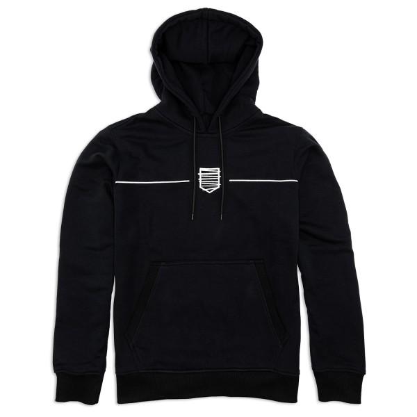 Hoodie A191 (schwarz)
