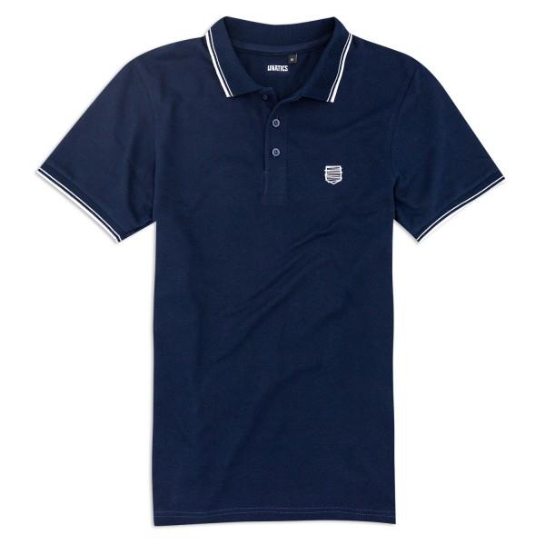 Poloshirt A182 blau