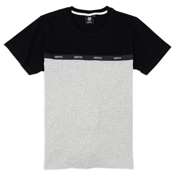 T-Shirt 'Taping' black grey