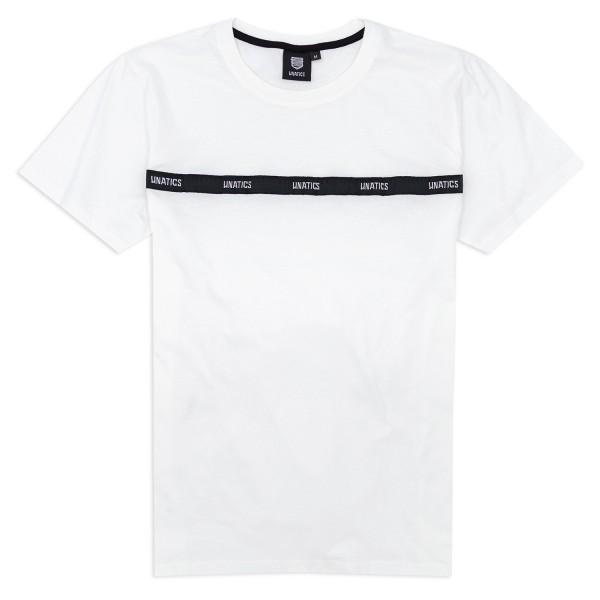 T-Shirt 'Taping' white