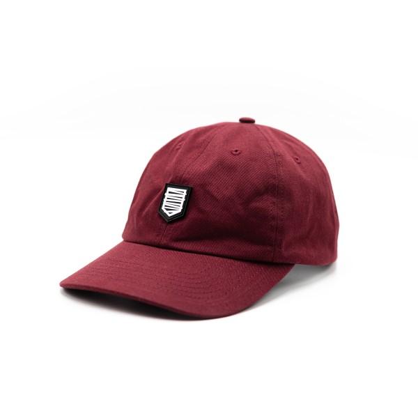 Cap 'Logo' burgundy