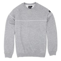 Sweatshirt 'Line' grey