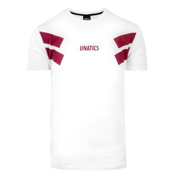 T-Shirt 'Retro Italic' white