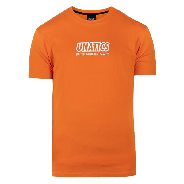 T-Shirt 'Italic' orange