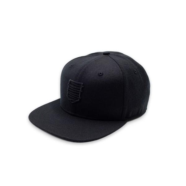 Snapback Cap 18 schwarz/s