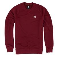 Sweatshirt A182 weinrot
