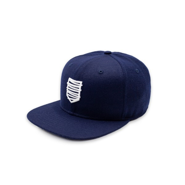 Snapback Cap 18 blau/w