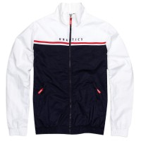 Tracktop 'Retro' white navy
