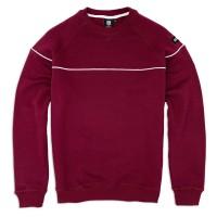 Sweatshirt 'Line' burgundy