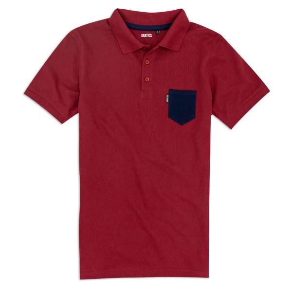 Poloshirt U182 weinrot